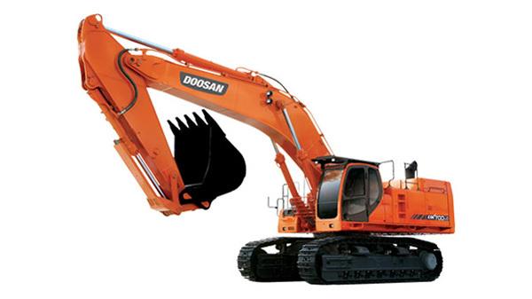 斗山DX700LC挖掘機