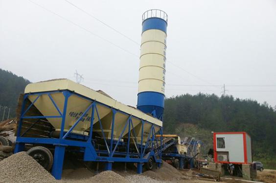 亚龙筑机移动式稳定土厂拌设备