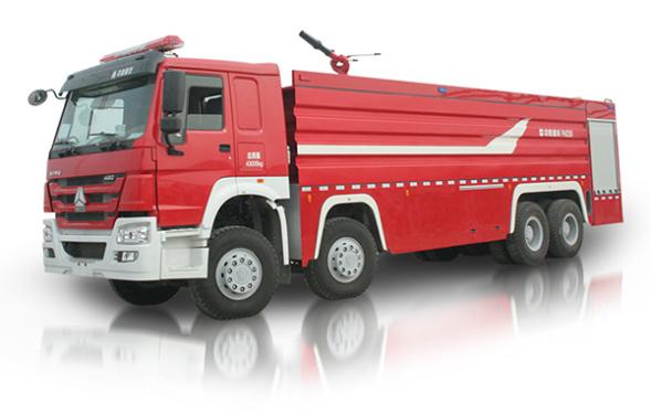 中联重科ZLJ5430GXFPM250型泡沫水罐消防车