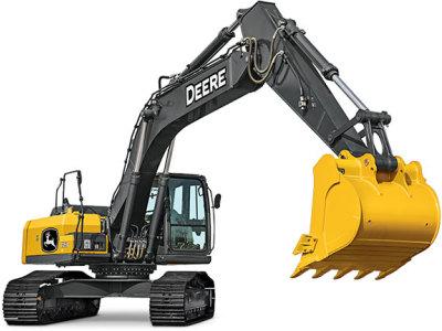 【720°全景展示】約翰迪爾E260LC挖掘機