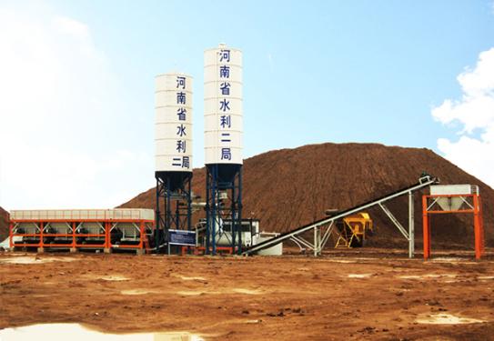 岳首模块式改良土厂拌设备
