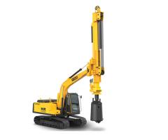 泰信机械KR36挖机改制旋挖钻机