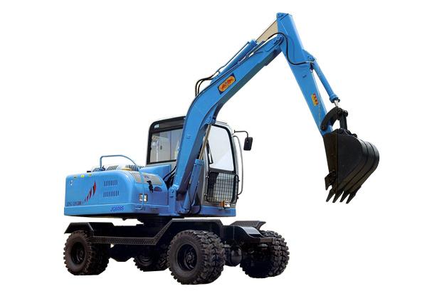 劲工JG608LS双驱轮式农用挖掘机