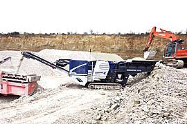 克磊镘(KLEEMANN)MC 110 R EVO 移动颚式破碎设备