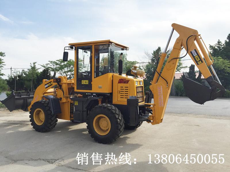 全工WZ25-20挖掘装载机高清图 - 外观