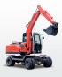 劲工JG75-8S轮式挖掘机高清图 - 外观