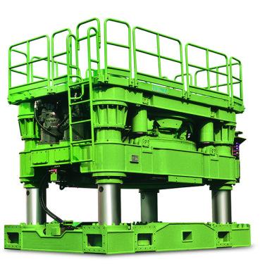 泰信机械DTR-3205H全回转全套管钻机
