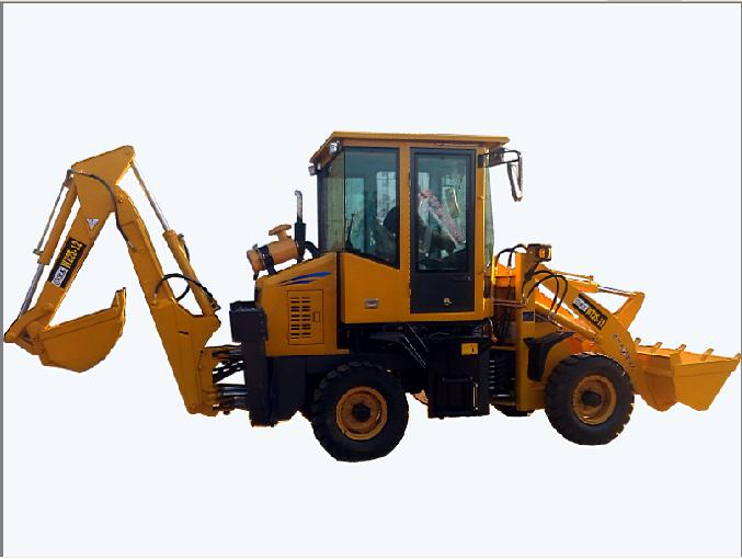 全工WZ25-12挖掘装载机高清图 - 外观