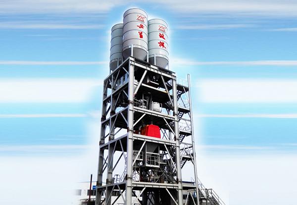 岳首高塔(楼)式干混砂浆搅拌设备高清图 - 外观