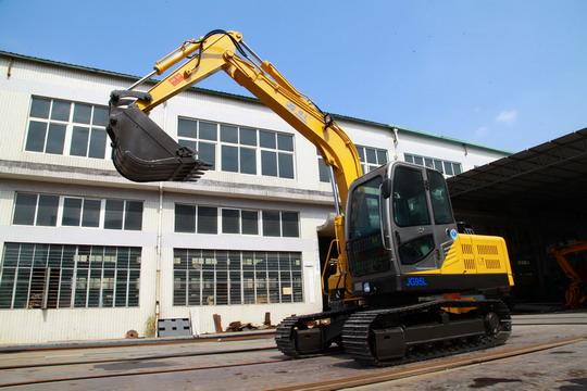 劲工95L履带挖掘机升降驾驶室高清图 - 外观