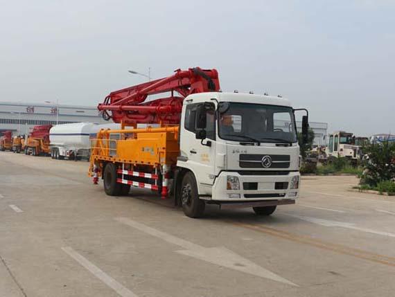 通亚汽车CTY5160THB泵车高清图 - 外观
