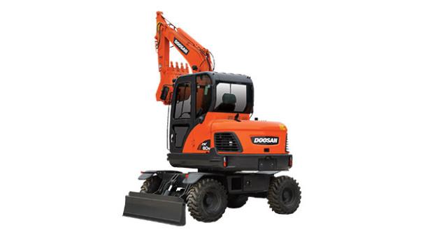 斗山DX60W挖掘机