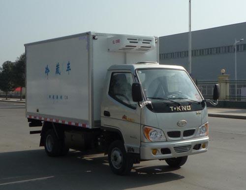 东风ZB5034XLCBDC3F冷藏车高清图 - 外观