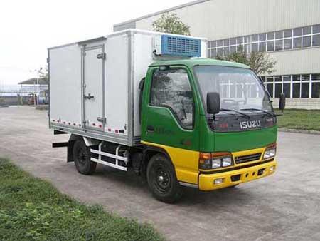 东风QL5040XLC3EARJ冷藏车高清图 - 外观
