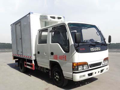 东风CLW5041XLCQ4冷藏车高清图 - 外观