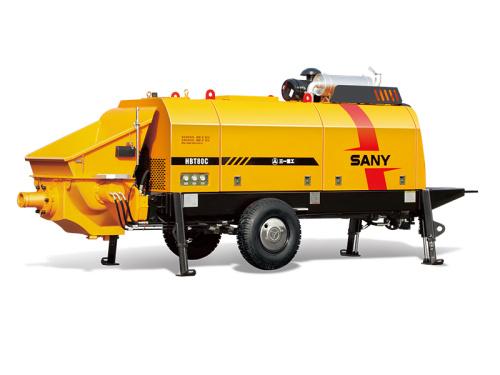 三一重工HBT8018C-5D柴油机拖泵