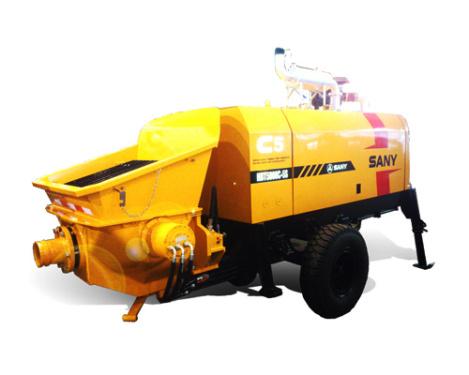 三一重工HBT5008C-5S柴油机拖泵