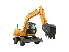 恒特HTL90轮式挖掘机