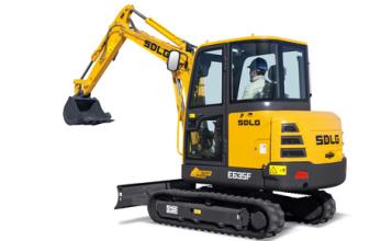 山东临工E635F挖掘机高清图 - 外观