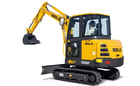 山東臨工E635F挖掘機