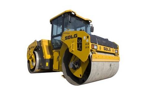 山东临工RD7140全液压双钢轮振动压路机高清图 - 外观