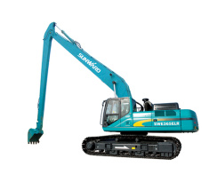 山河智能SWE365ELR加长臂系列挖掘机