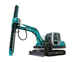 山河智能SWDL800螺旋地桩钻机