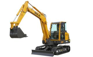 山东临工E660F小型液压挖掘机