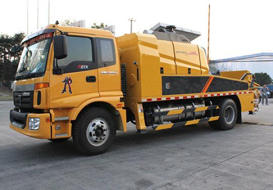 柳工HBC11012158E混凝土车载泵