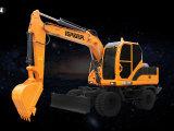 雷道LD135E挖掘机高清图 - 外观