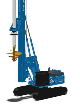 土力机械SR80EVO入岩旋挖钻机