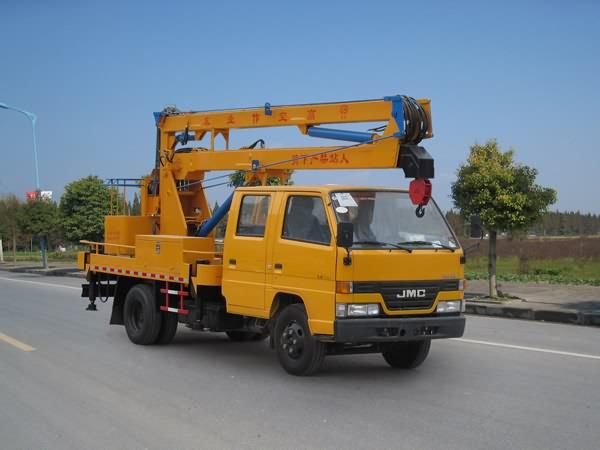 江特JDF5050JGKJ4高空作业车高清图 - 外观