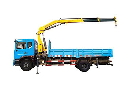 柳工LCK63随车起重运输车