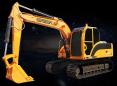 雷道LD150E挖掘机高清图 - 外观