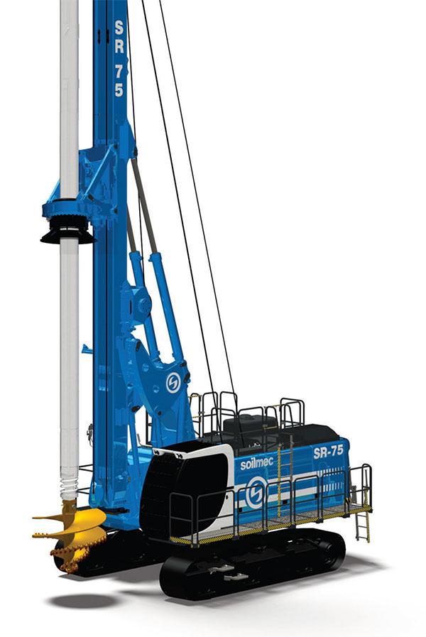 土力机械SR75ADV入岩旋挖钻机高清图 - 外观
