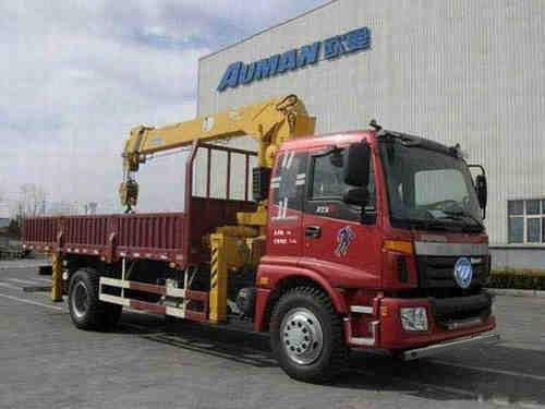 江特欧曼国四6.3吨随车吊