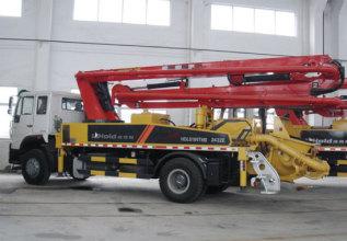 柳工HDL5191THB2432E混凝土泵车高清图 - 外观
