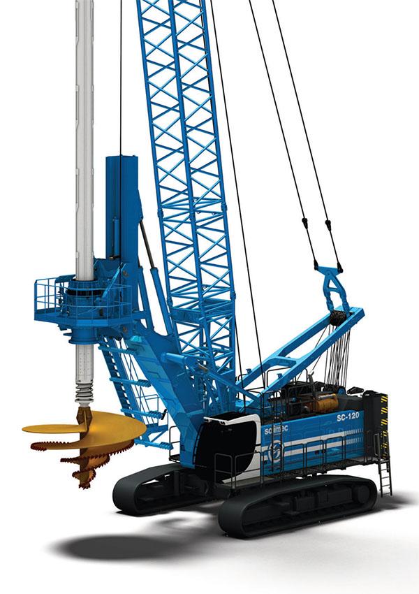 土力机械SA40吊机入岩旋挖钻机高清图 - 外观