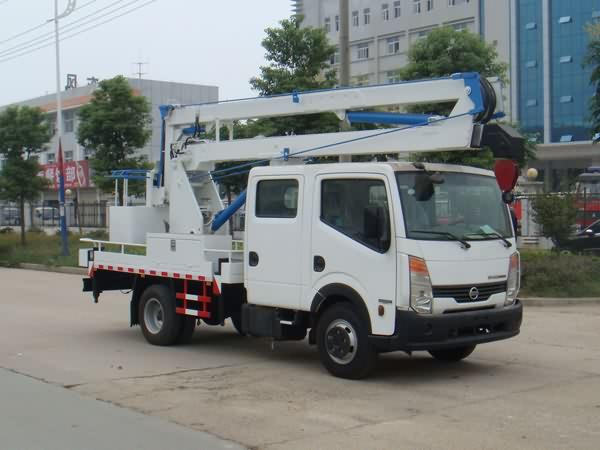江特JDF5050JGKZN4高空作业车高清图 - 外观