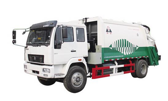 圣岳SDZ5164ZYS压缩式垃圾车高清图 - 外观