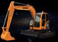 雷道LD90E挖掘机高清图 - 外观