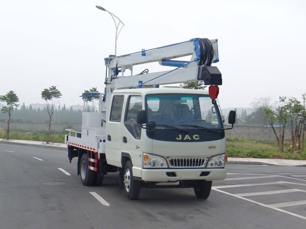 江特JDF5061JGKJAC4高空作业车高清图 - 外观