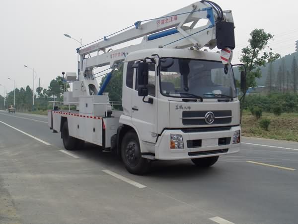 江特JDF5110JGKDFL4高空作业车高清图 - 外观