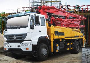 柳工HDL5200THB2842E混凝土泵车高清图 - 外观