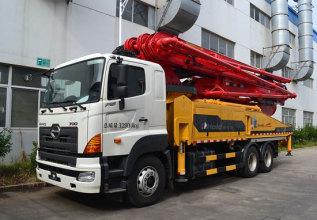 柳工HDL5331THB4653D混凝土泵车高清图 - 外观