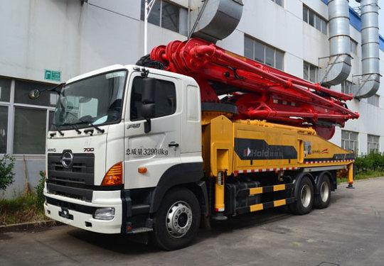 柳工HDL5331THB4653D混凝土泵车