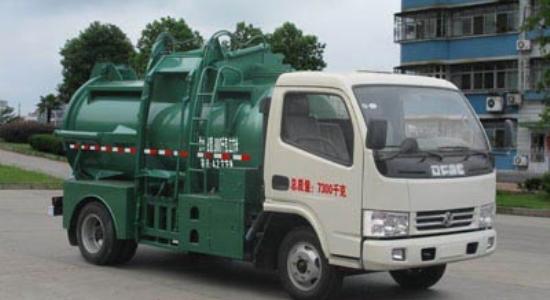 江特东风餐厨垃圾车(国四)高清图 - 外观