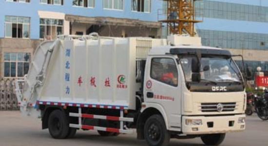 江特东风多利卡压缩式垃圾车(国四)高清图 - 外观
