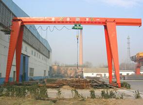 泰沃MH 型电动葫芦门式起重机(单边外悬)
