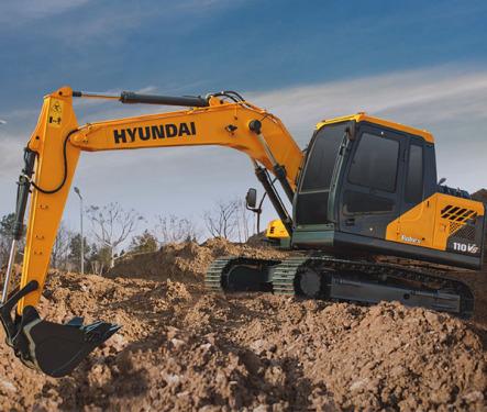 现代重工110LVS挖掘机